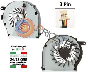 Ventola fan G62 Pin CQ62 3 G72 CQ72 KSB0505HA CPU HP cooling A series per rUPqFr