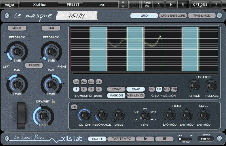 XILS Labs XILS LeMasque Delay (Electronic Delivery) - Authorized Dealer