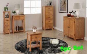 Living Room Furniture Set Console Side Table Sideboard Storage