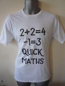 Quick-Maths-Big-Shaq-Enfants-Adultes-T-Shirt-Mans-pas-Chaud-le-Ting-va-drole-rap