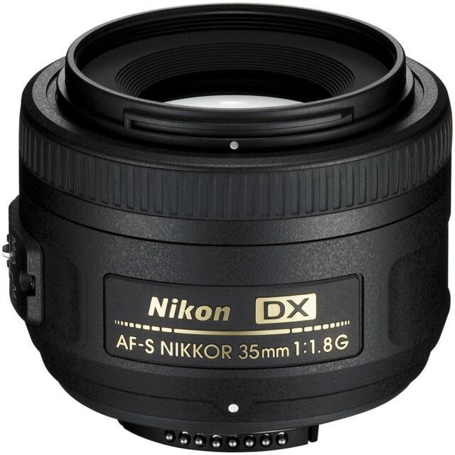 New Nikon AF-S DX NIKKOR 35mm F1.8G F/.8 Lens