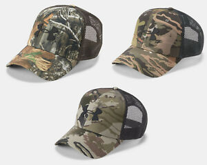 f95157097be Under Armour Men s UA Mesh Camo 2.0 Adjustable Hat Hunting Snapback ...