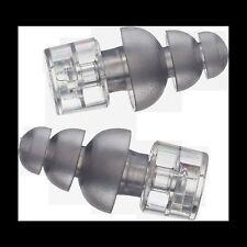 Etymotic ER20XS High-Fidelity Earplugs-Standard Fit Frost Eartip Clear Stem