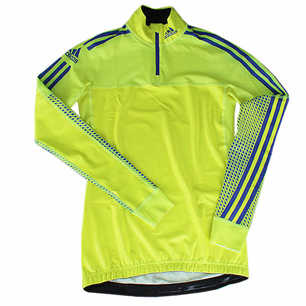 adidas Damen XC Race Top Langarm Langlauf Running Shirt 1/2 Zip Wintersport Warm