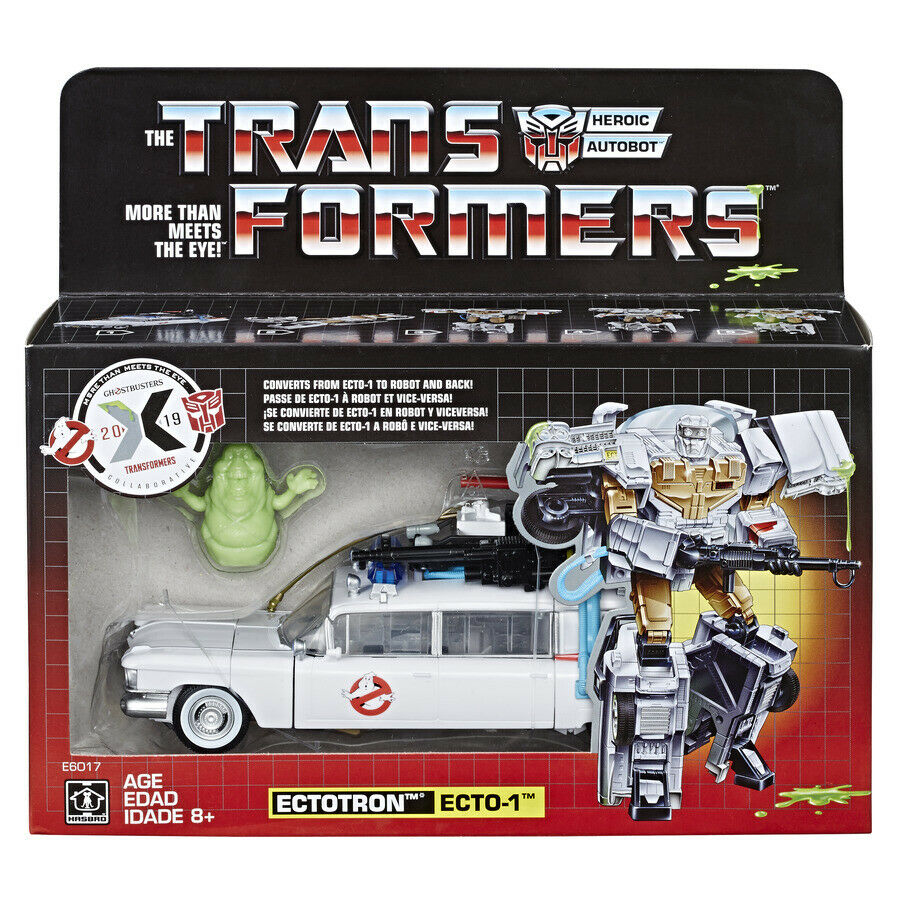 Transformers Hasbro 100% Authentic Ghostautobusters Ectotron Ecto1 Exclusive MISB