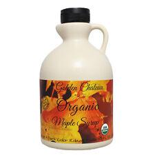 Certified Organic Maple Syrup,Grade A Dark Robust Quart (32 oz), GF Expires 2019