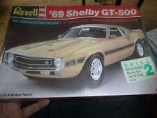 REVELL 1969 FORD MUSTANG GT-500 SHELBY 1/25 MODEL CAR MOUNTAIN KIT FS
