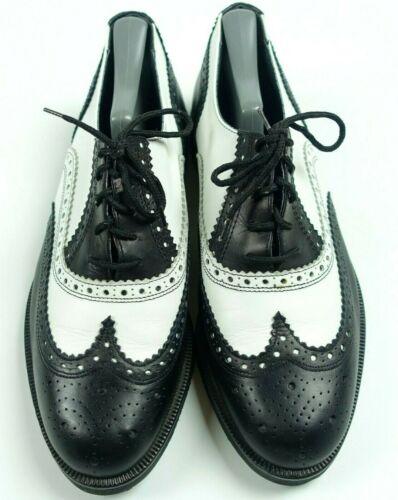 Botticelli Mens Shoes Oxfords Black White  Wingtip