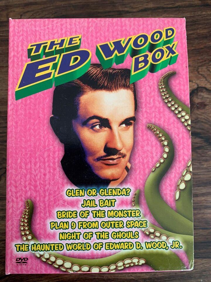 The Ed Wood Box , instruktør Ed Wood , DVD