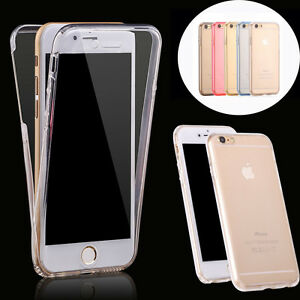 360-Full-Cover-Front-Back-Clear-Soft-Case-Skin-for-Apple-iPhone-X-6-7-8-Plus