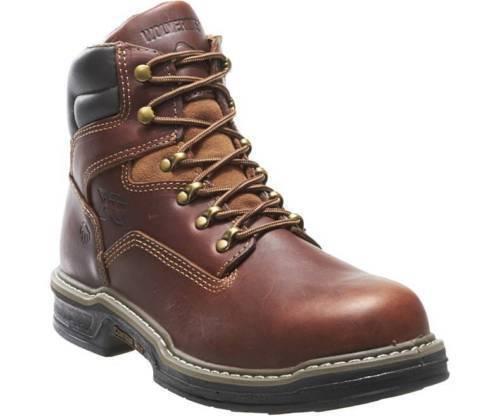 Wolverine Raider MultiShox Contour Welt 6 Inch W02421 Brown Men's Boots 10 WIDE
