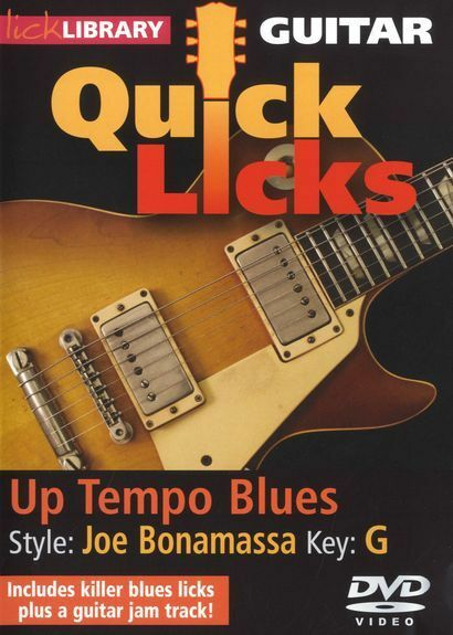 Lick library learn to play electric blues guitar