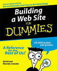 Building a Web Site For Dummies by David Crowder (Paperback, 2000)