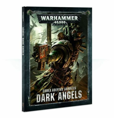 Warhammer 40K Dark Angels Codex Hardcover 8th Edition NEW