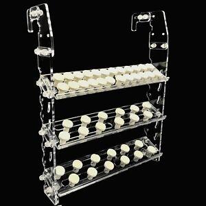 Étranglement Art Vertical Frag Rack Détient Jusqu'à 84 Coral Frag Plugs Accrocher à L'arrière-afficher Le Titre D'origine MatéRiaux De Haute Qualité