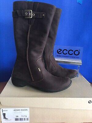 ecco women's rise gtx tall walking boot