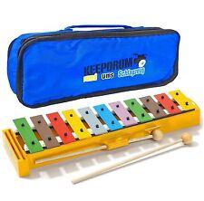 Sonor GS Xylophon Glockenspiel für Kinder + Keepdrum Trage-Tasche