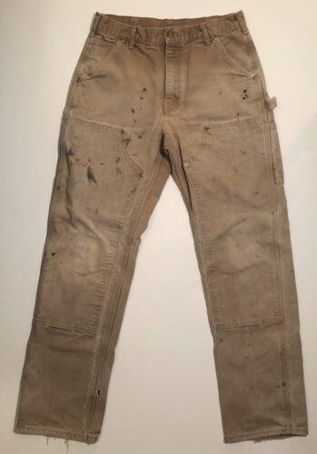 Vintage Carhartt Double Knee Pants - 31x33 - Tobac
