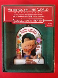 HALLMARK 1985 WINDOWS TO THE WORLD MEXICO FIRST IN SERIES