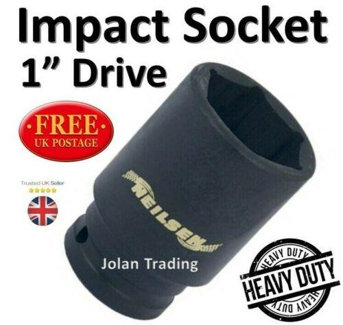 "Impact Socket 1/"" Drive Air Heavy Duty Camion voiture véhicules HGV Compresseur Air Gun"
