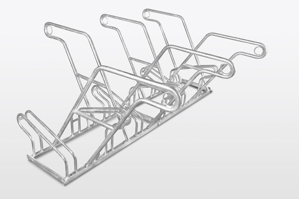 Fahrradständer 6-fach TOP mit Anlehnbügel TEXAS DS