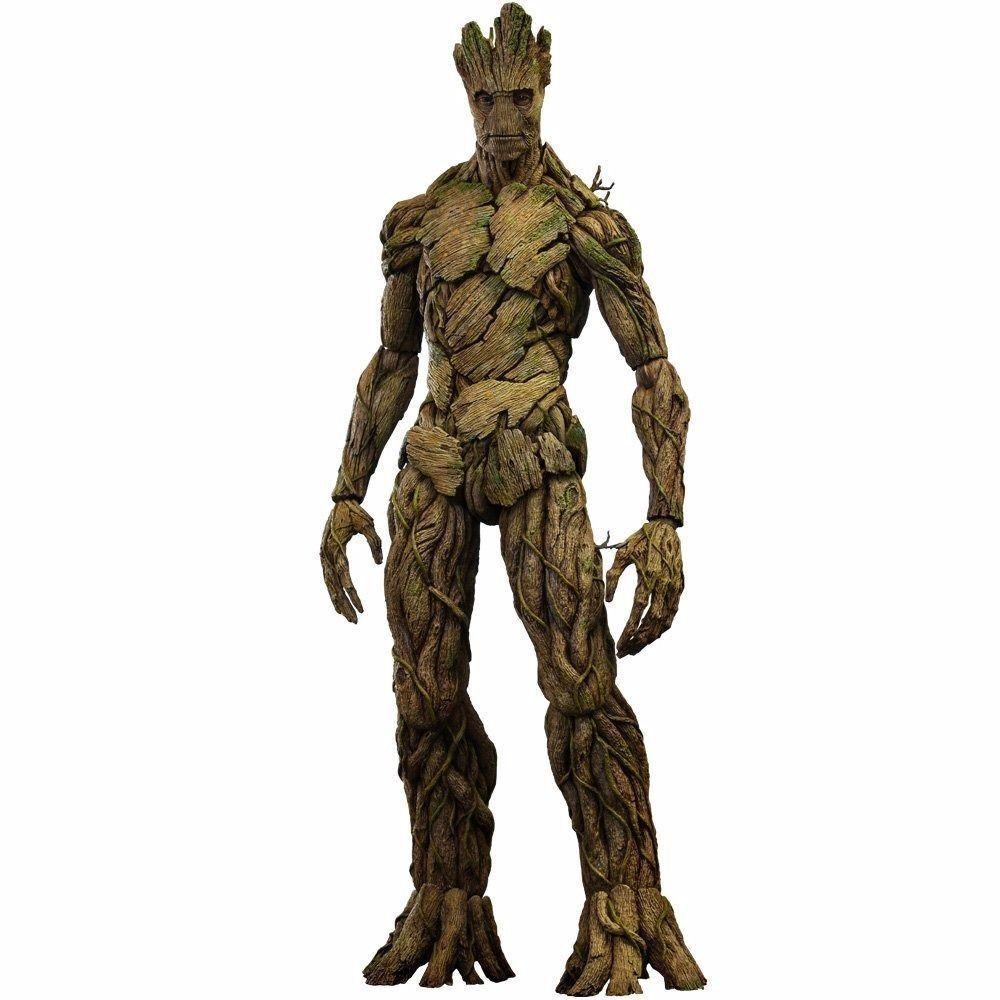 Movie Masterpiece Guardians of the Galaxy Groot 1 6 Figura De Acción Nuevo Hot Juguetes