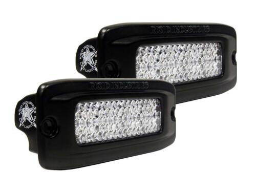 Rigid Industries SR-Q Flush Mount Back Up Light Kit Diffused White LED Lights