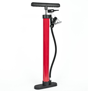 High Pressure Floor Standing Hand Bike Pump Cycle Bicycle Tyre Air Puncture ***