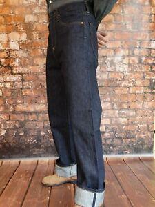 Honig Quartermaster Denim Jeans 30er Jahre Style Rockabilly Us Army Nose Art X-long Vertrieb Von QualitäTssicherung