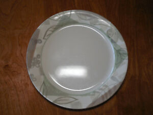 Image is loading Corelle-TEXTURED-LEAVES-Set-of-8-Dinner-Plates- & Corelle TEXTURED LEAVES Set of 8 Dinner Plates 10