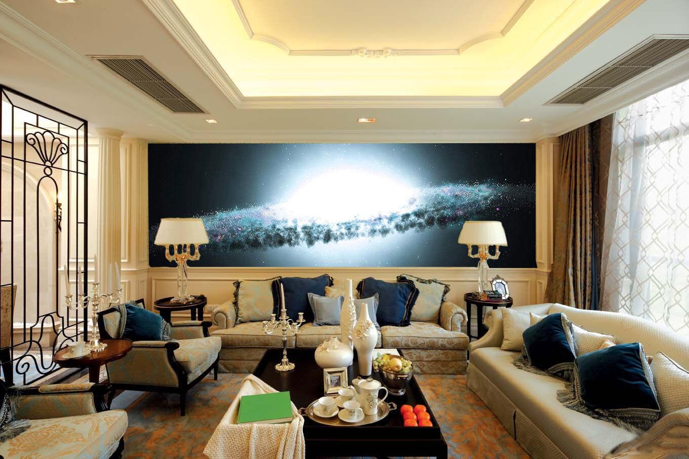 3D Graffiti Starlight Smoke Wall Paper Wall Print Decal Wall AJ WALLPAPER CA