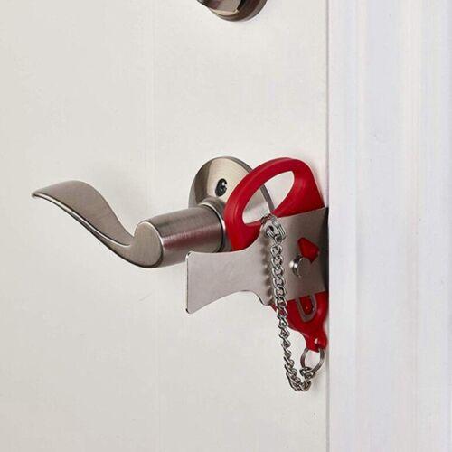 Security Home Hotel Portable Door Lock Anti-theft Travel Lock Door Lock Safe BL3