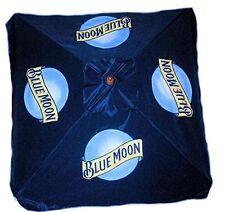BLUE MOON 9 foot BEER UMBRELLA MARKET PATIO STYLE NEW HUGE