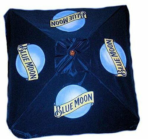 Blue Moon 9 Foot Beer Patio Umbrella Market Style | EBay