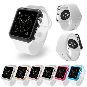 TPU-Schutzhuelle-Cover-Case-Bumper-fuer-Apple-Watch-Sport-Edition-38-42-mm