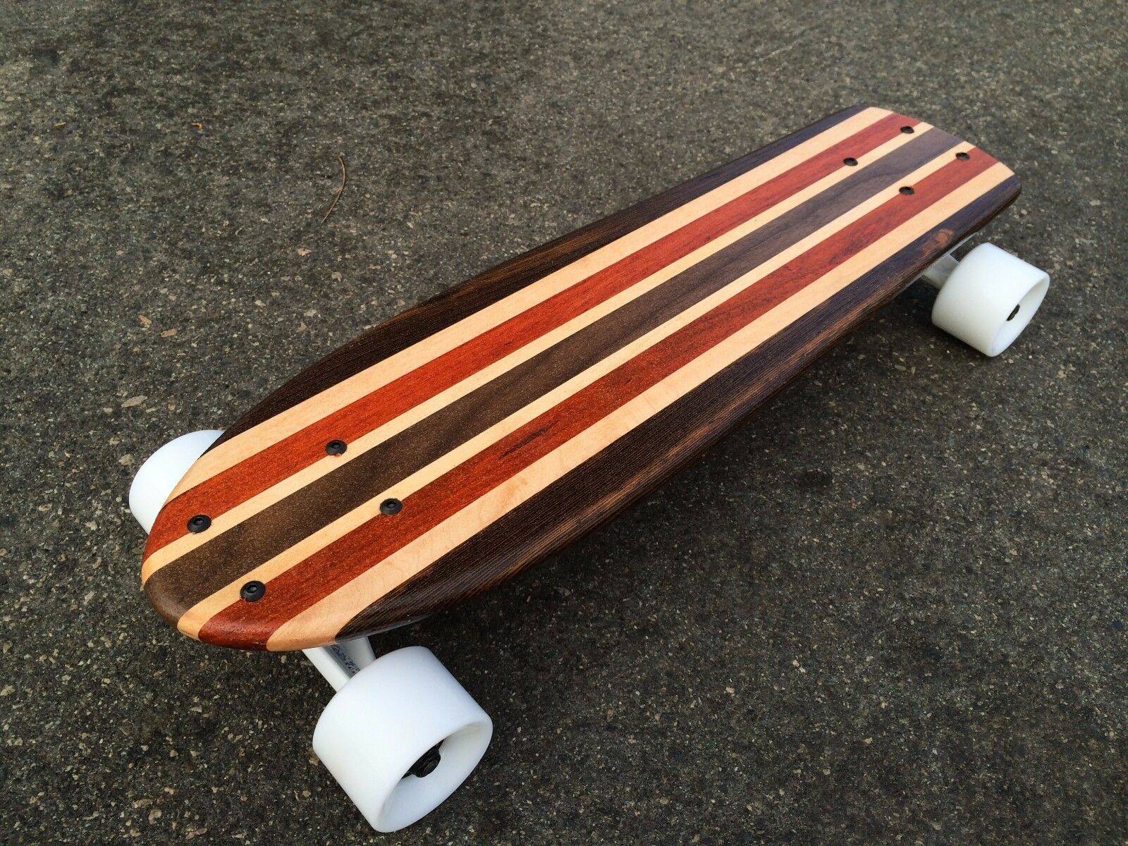 Mini Cruiser S board  -  Bass  Mini Croozer  (Solid Wood)  in stadium promotions