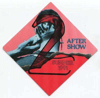 Authentic Original OTTO #3 AC//DC 1991 Razors Edge Concert Tour Backstage Pass!!