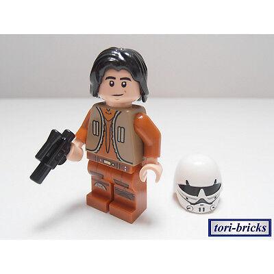 NEU ### =TOP! LEGO STAR WARS FIGUR ### EZRA BRIDGER MIT HELM AUS SET 75048