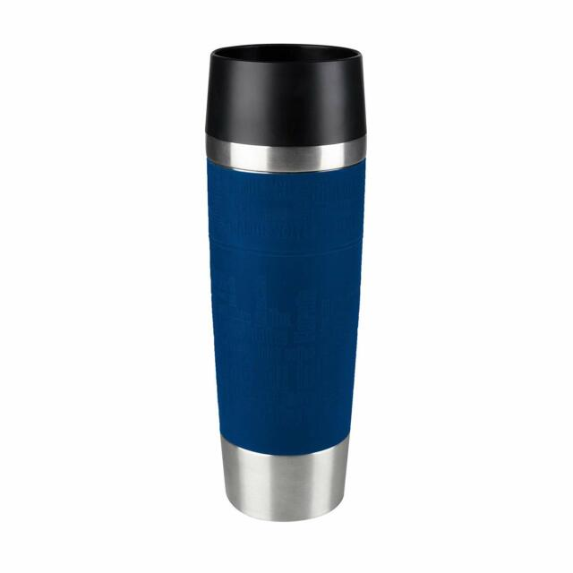SEB Emsa Isolierbecher Travel Mug Blau 515618 0,5 Liter