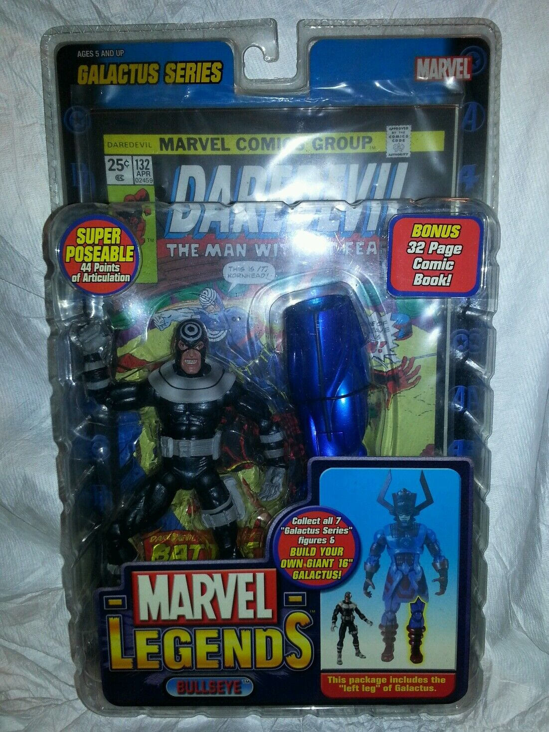 Marvel Legends Series Bullseye Variant