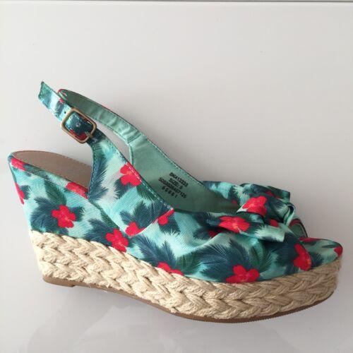 Peep F Toe Shoes 3 Sandals 5 Green 5 amp;f Red Ladies U0gqq