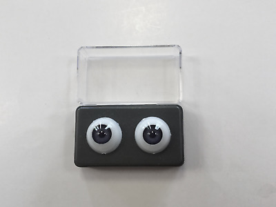 18mm Blue Grey Glastic Realistic Acrylic Doll Eyes