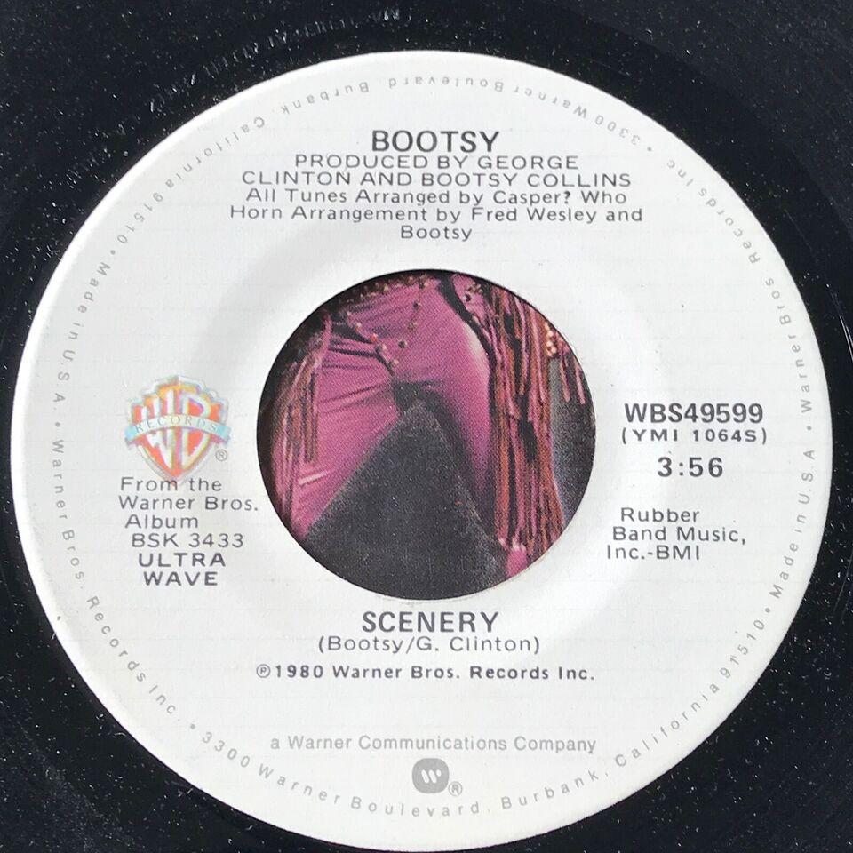 Single, Bootsy(Collins), Mug Push/Scenery