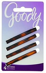 Goody-Classics-Stay-Tight-Hair-Barrette-Mock-Tort-STRONG-hair-pin-4-Count