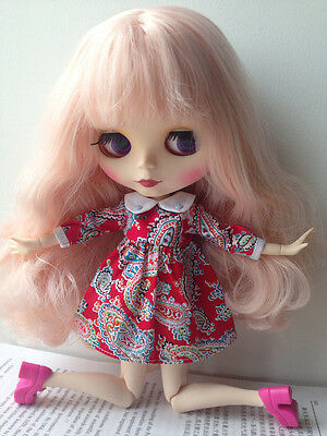 """Blythe Takara 12"""" Neo Blythe Nude Doll From Factory For Custom Toy Blythe_moonlight2230 Elegant And Graceful"""