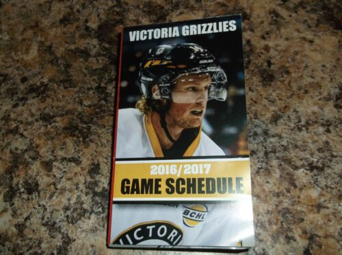 2016-17 VICTORIA GRIZZLIES BCHL HOCKEY SCHEDULE