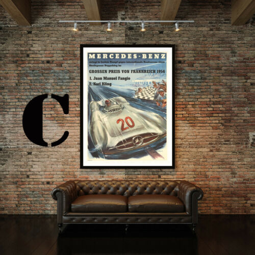 Mercedes-Benz Vintage Motor Advertising Art Print Poster Set Choice of 3 Prints
