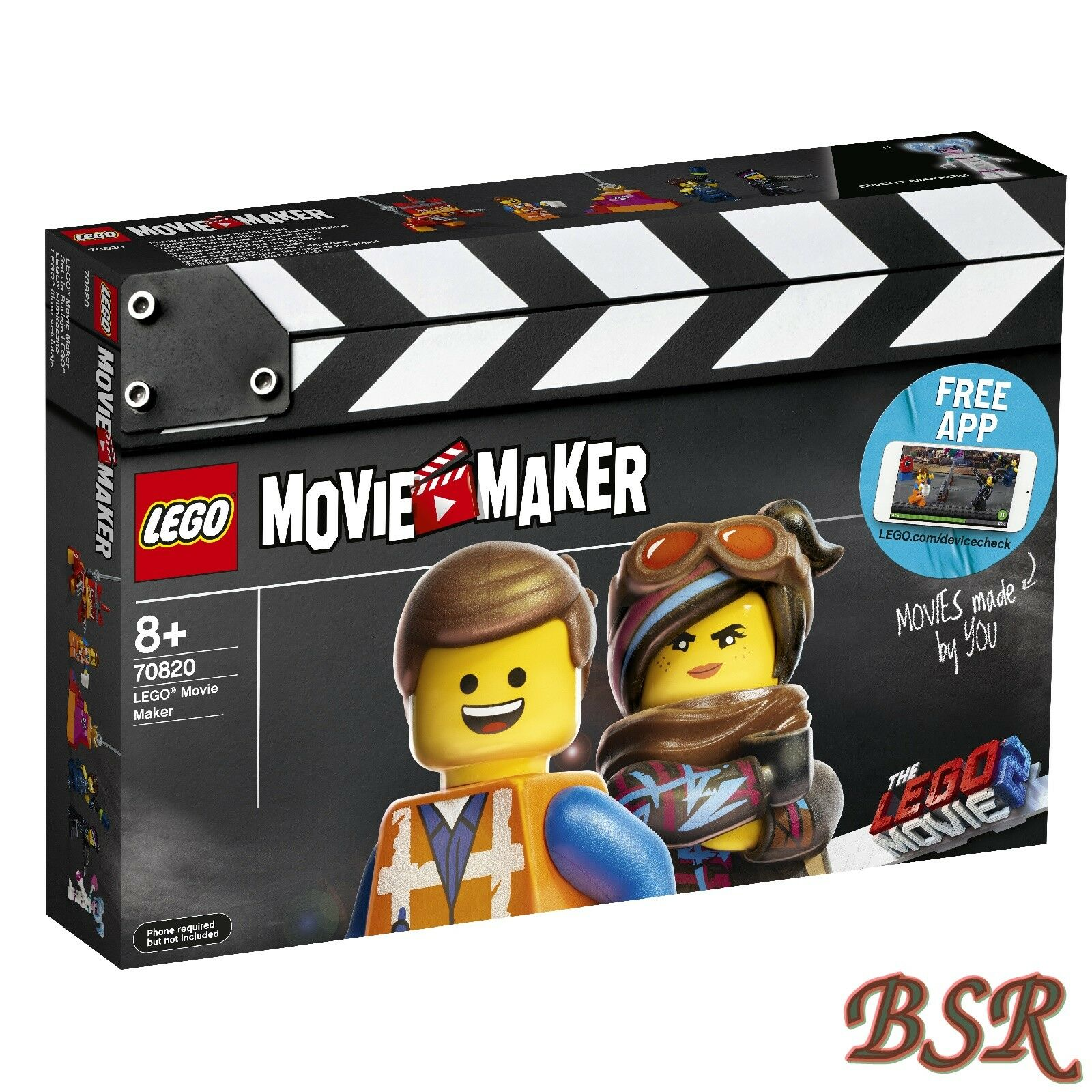 LEGO® Movie 2  70820 70820 70820 LEGO® Movie Maker & 0.- Versand & NEU & OVP a2f9c2