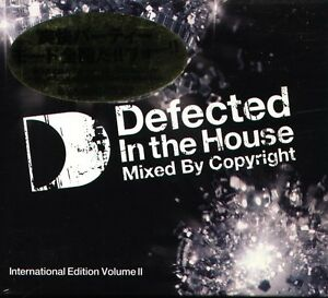 Copyright-Defected-In-The-House-International-Edition-Volume-II-Japan-2-CD-NEW
