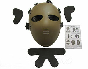 E-T-Masque-De-Protection-Airsoft-Paintball-Full-Face-Protection-Masque-Mask
